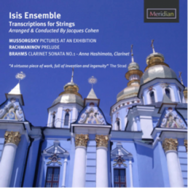 NEW CD – Isis Ensemble – with conductor Jacques Cohen: