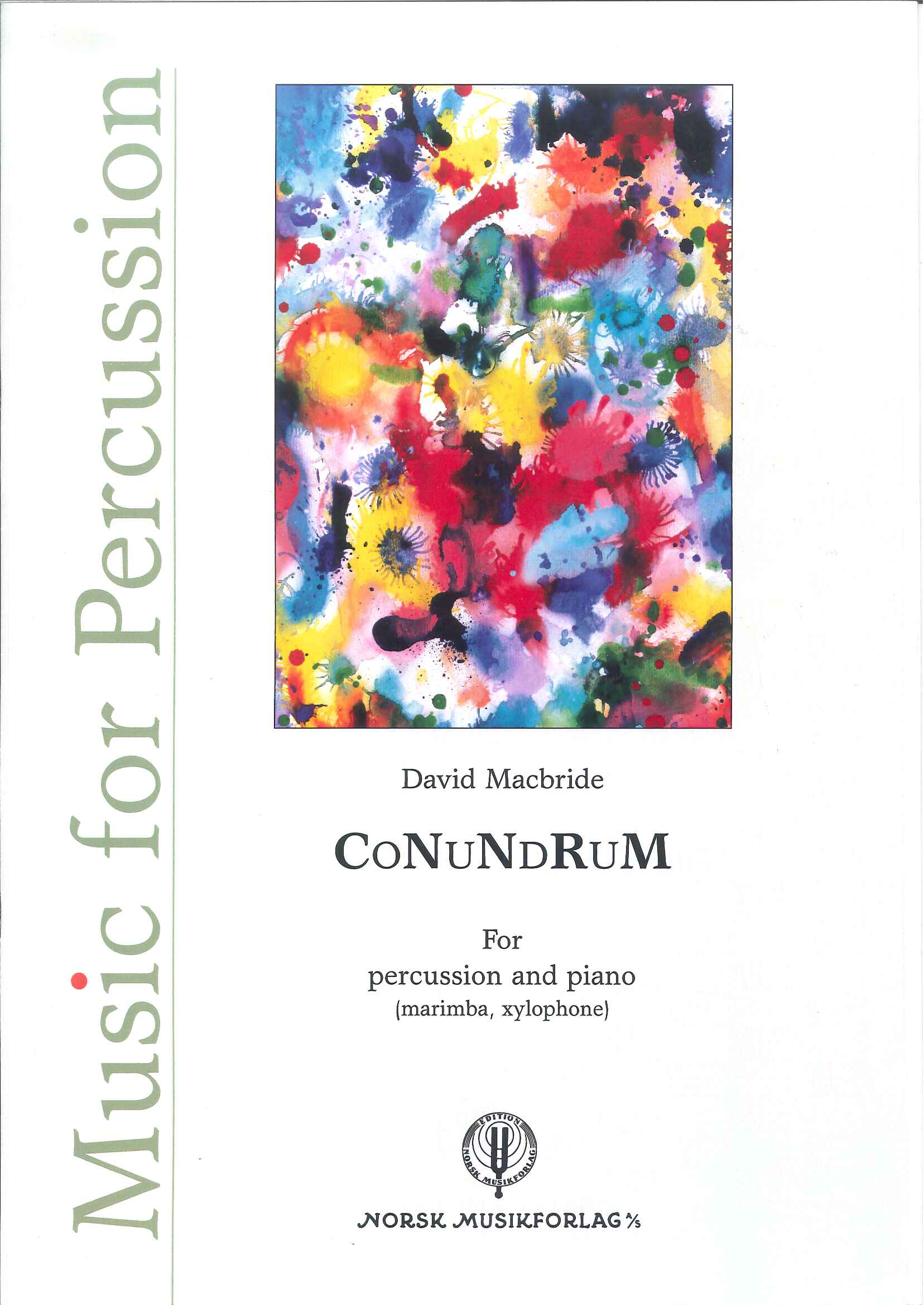 DAVID MACBRIDE: CoNuNdRuM
