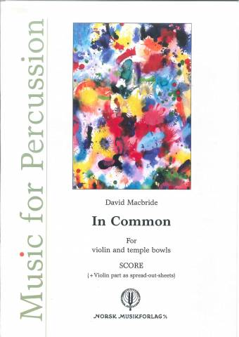 DAVID MACBRIDE: In Common