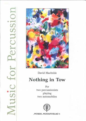 DAVID MACBRIDE: Nothing in Tow
