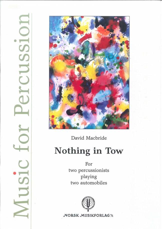 DAVID MACBRIDE: Nothing in Tow