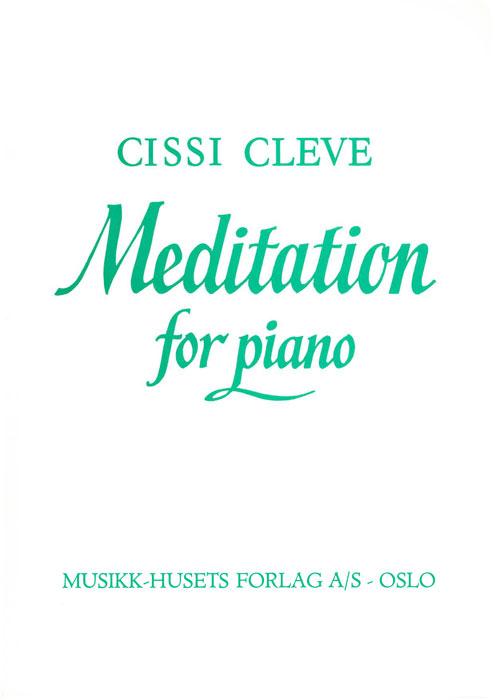 CISSI CLEVE: Meditation