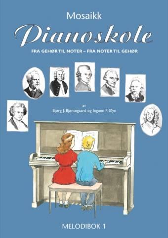 NMO 12188 Pianoskolen - Melodibok 1