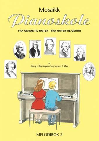 NMO 12488 Pianoskolen - Melodibok 2