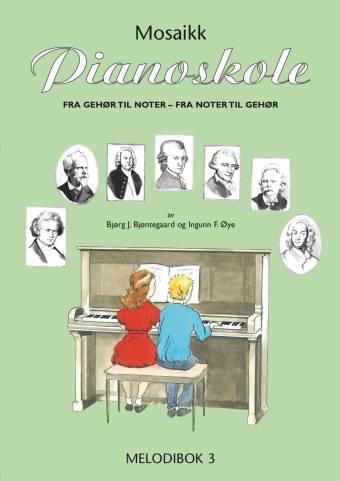 NMO 12672 Pianoskolen - Melodibok 3