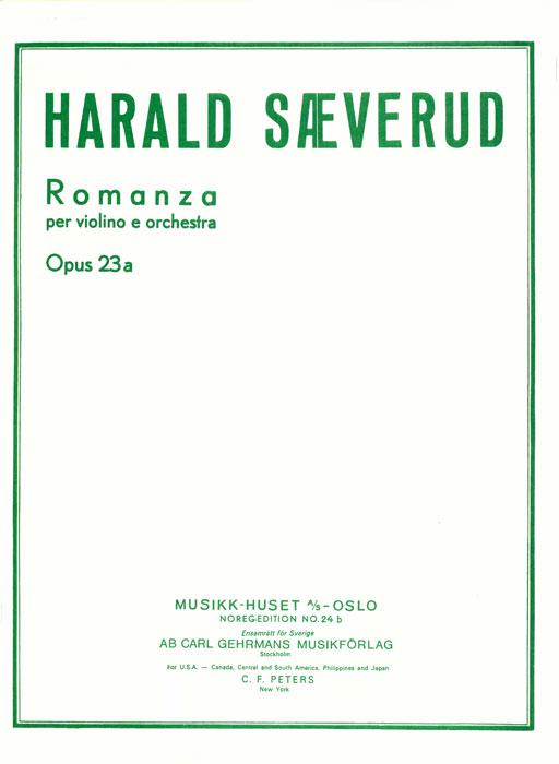 HARALD SÆVERUD: Romanza op. 23a