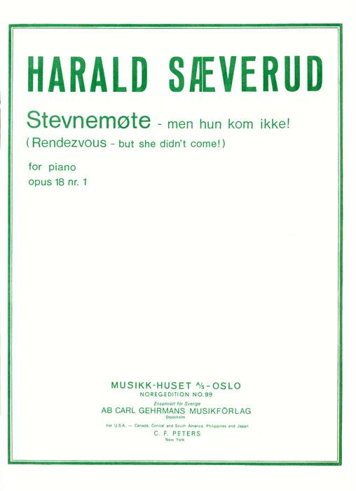 HARALD SÆVERUD: Stevnemøte, men hun kom ikke op. 18 nr. 1