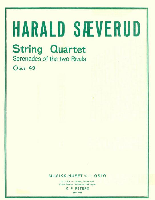 HARALD SÆVERUD: String Quartet no. 1