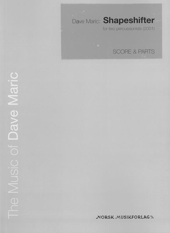 DAVE MARIC: Shapeshifter