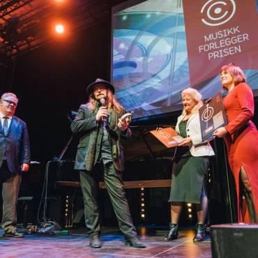 Stemningsrapport fra Musikkforleggerprisen 2017