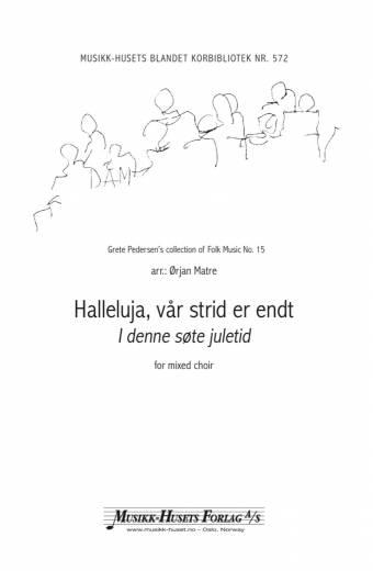 MH 3585 Halleluja vår strid er endt