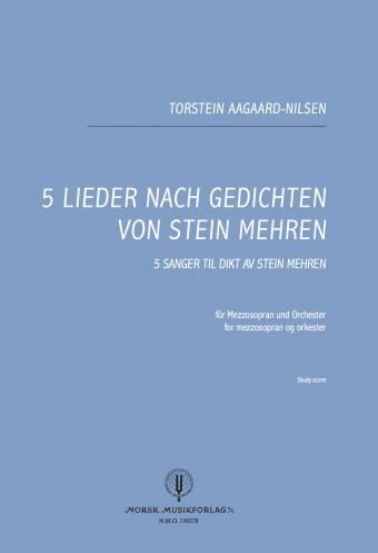 NMO 13927B 5 Lieder...Study Score omslag-kopi