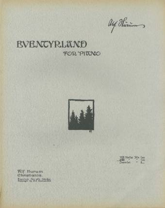 Eventyrland for piano