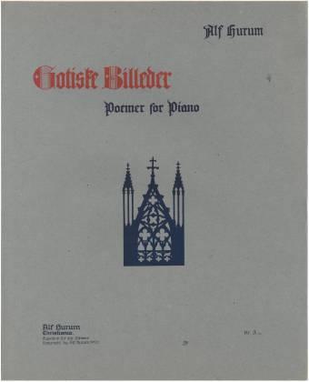 Gotiske billeder Poemer for Piano