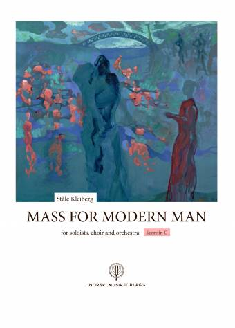 Mass for Modern Man-Omslag Full Score Front