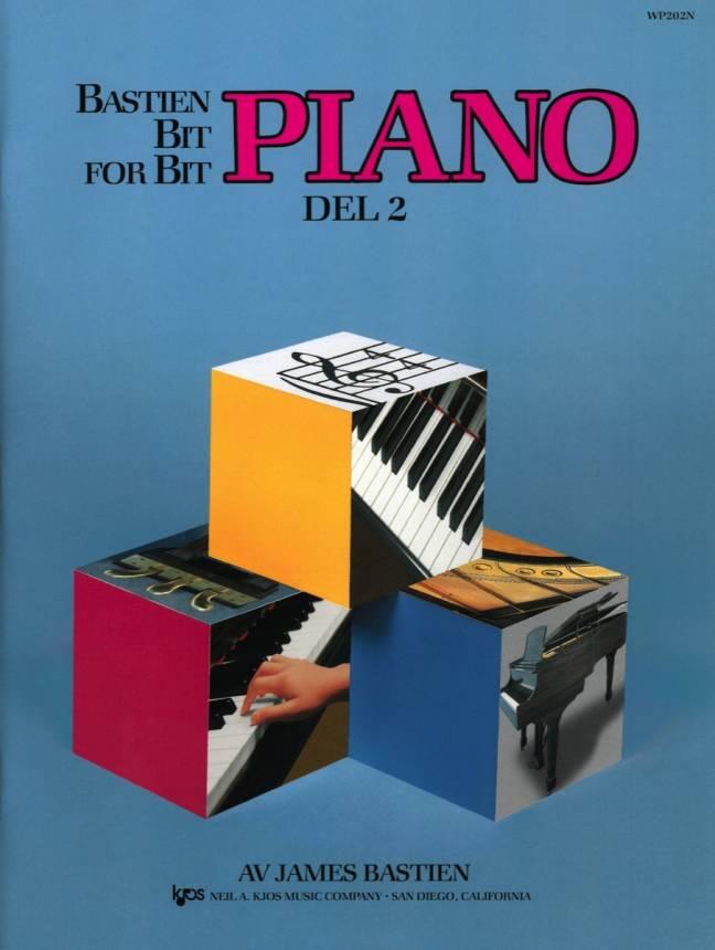 Bastien Piano: Bit for bit – Del 2
