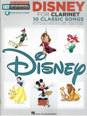 omslag, Disney clarinet