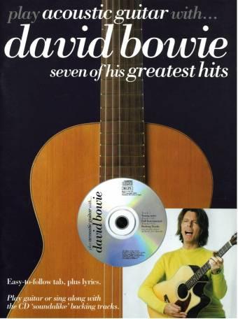 omslag, bowie acoustic