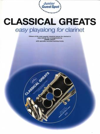 omslag, classical clarinet