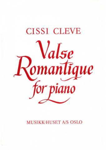 CISSI CLEVE: Valse Romantique