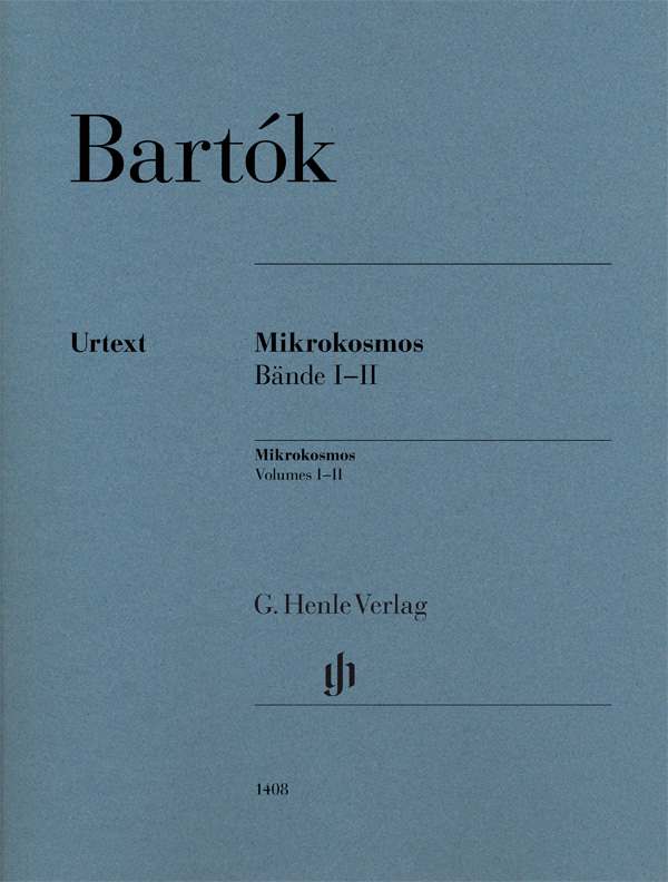 BARTÓK: Mikrokosmos – Volume 1-2