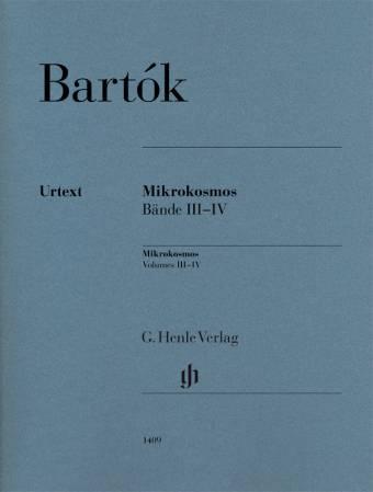 BARTÓK: Mikrokosmos – Volume 3-4