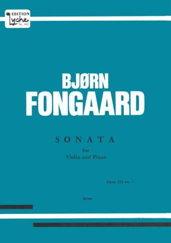 BJØRN FONGAARD: Sonata