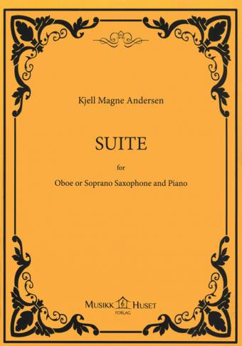 KJELL MAGNE ANDERSEN: Suite for Oboe and Piano