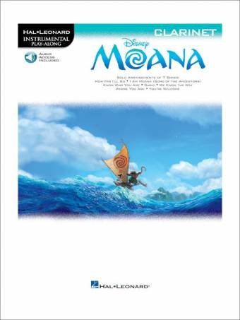 MOANA – Klarinett (Play-Along)