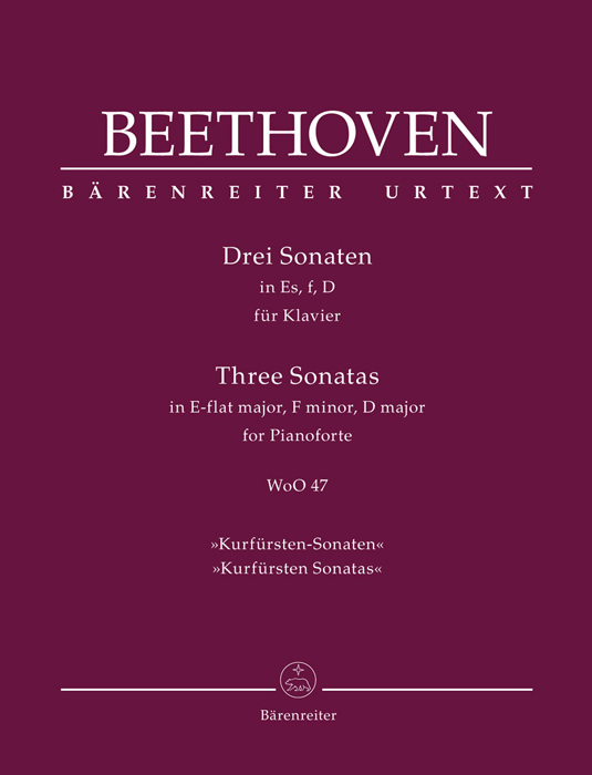 BEETHOVEN: Three Sonatas