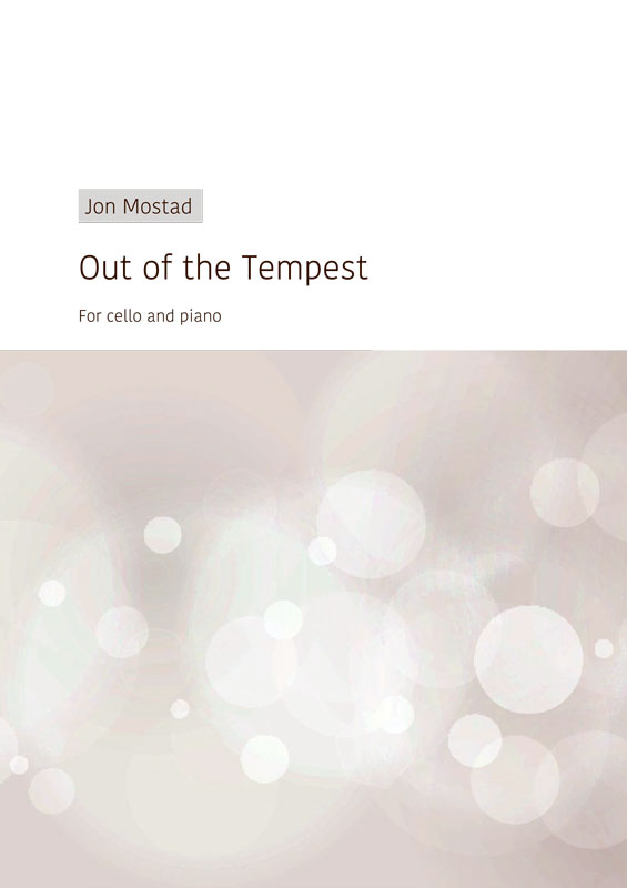 Out of the Tempest