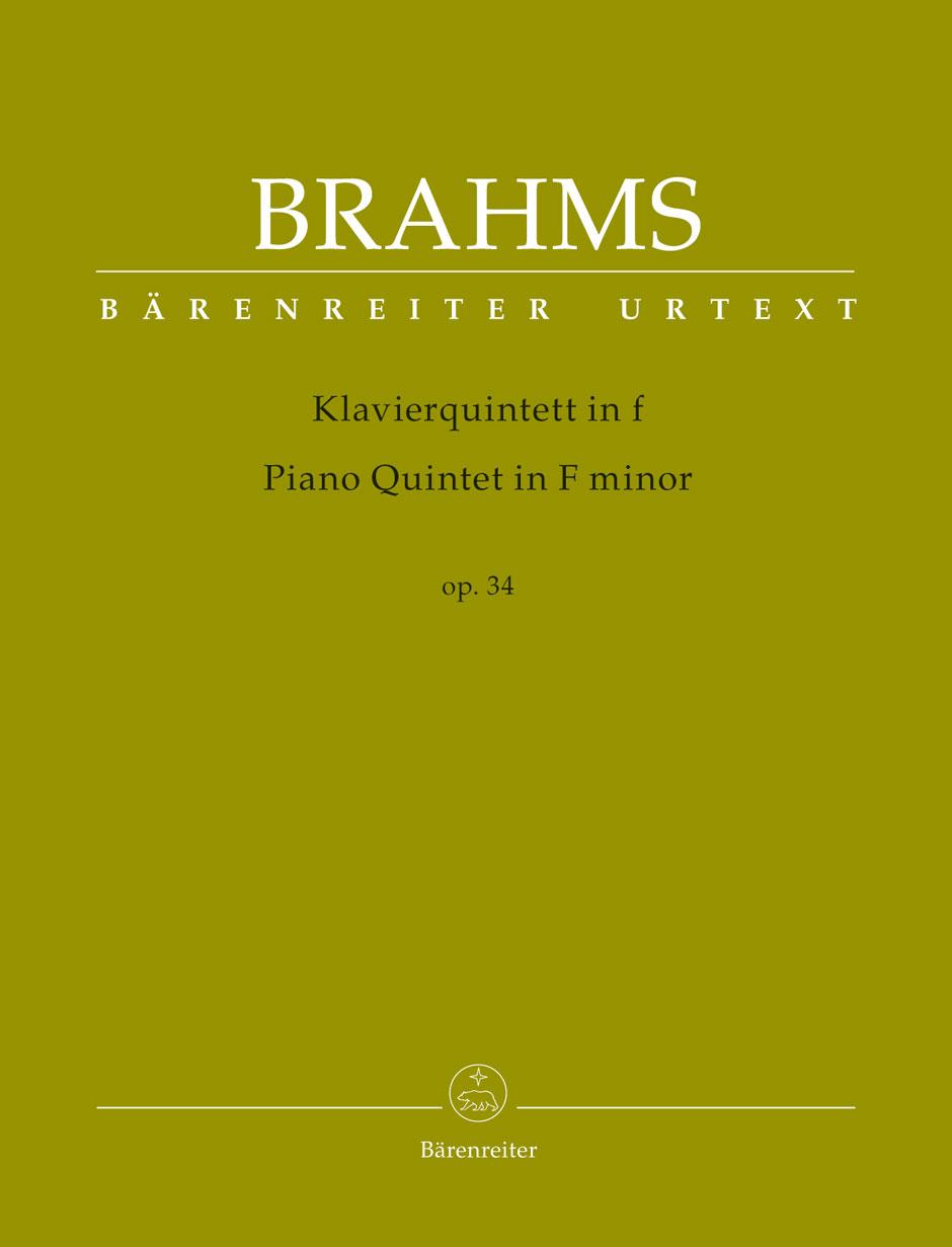 BRAHMS: Klaverkvintett i F-moll