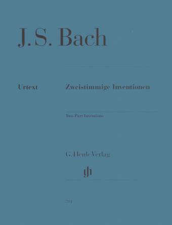 J. S. BACH: Sweistimmige Invetionen