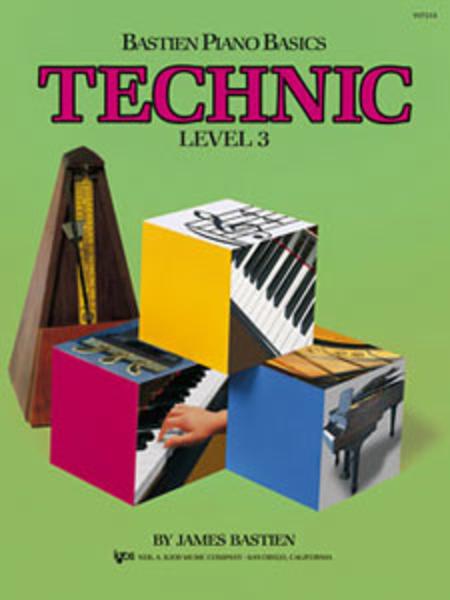 Bastien Piano Basics: Technic, level 3