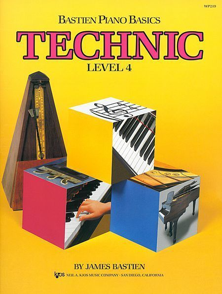 Bastien Piano Basics: Technic, level 4