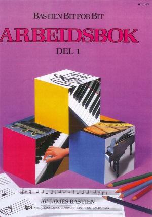 Bastien Piano: Bit for bit – Arbeidsbok del 1