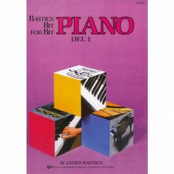 Bastien Piano: Bit for bit – Del 1