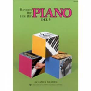Bastien Piano: Bit for bit – Del 3