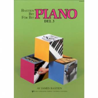 Bastien Piano: Bit for bit – Del 3