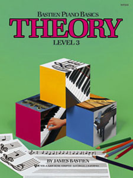 Bastien Piano Basics: Theory, Level 3