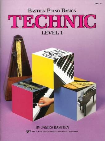 Bastien Piano Basics: Technic, level 1