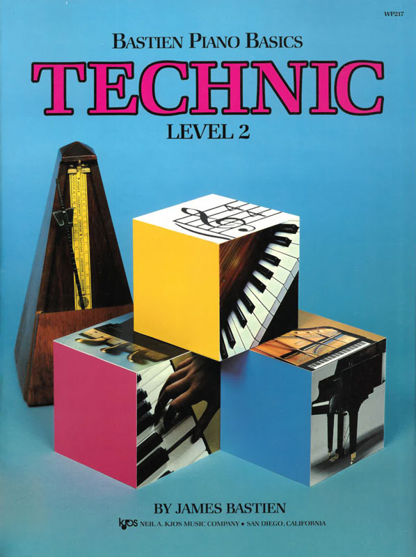 Bastien Piano Basics: Technic, level 2