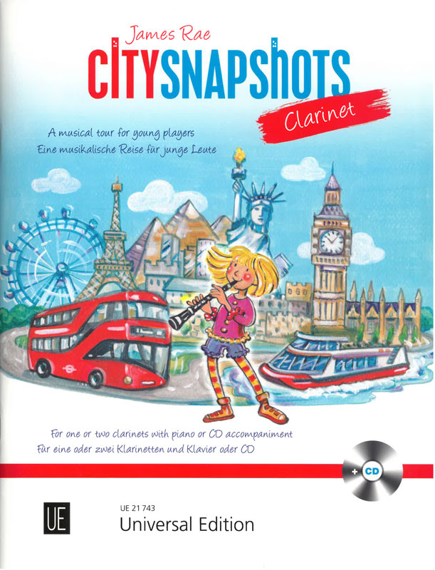 City Snapshots, Clarinet