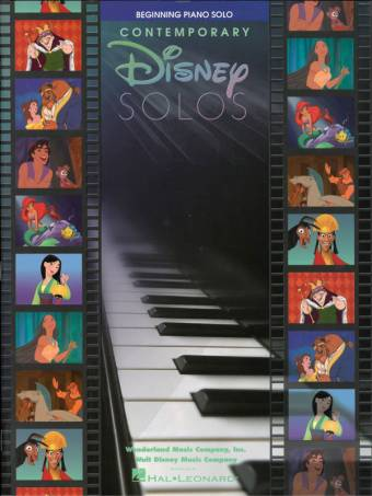 Contemporary Disney solos