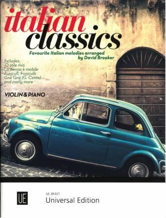 ITALIAN CLASSICS: Favorite Italian melodies