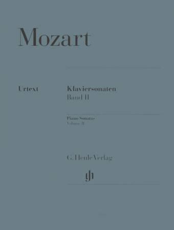 MOZART: Klaviersonaten Band II