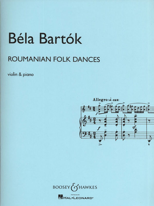 BÉLA BARTÓK: Roumanian Folk Dances