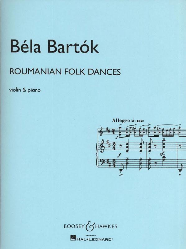 BÉLA BARTÓK: Roumanian Folk Dances