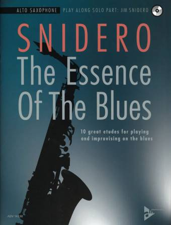 SNIDERO: The Essence of The Blues, Alto Saxophone