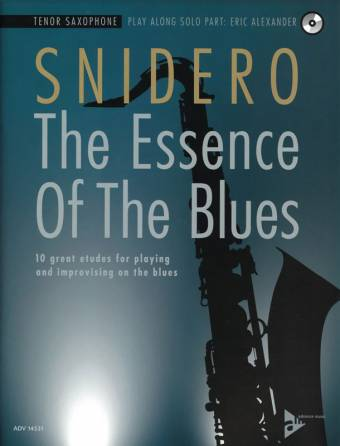 SNIDERO: The Essence of The Blues, Tenor Saxophone